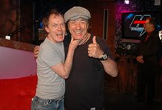 Angus and Brian acdc
