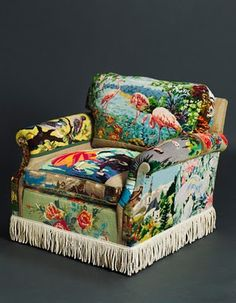 Suzie Stamford crazy upholstered chair
