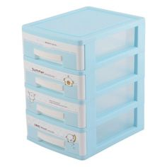 Free Shipping. Buy Household Plastic Rectangular Shaped 4 layers Sorting Storage Box Container Case at Walmart.com