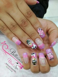 Xmas Nails, Christmas Nails, Cute Nails, Pretty Nails, Makeup Art, Eye Makeup, Flower Nail Art, Christmas Design, Manicure And Pedicure
