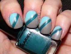 Fingers Polish Mania: Barielle Gray Sky, Heaven Sent, Under The Sea