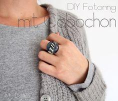 DIY Cabochon Ring   Fotoring   Anleitung   waseigenes.com Blog