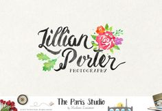 Floral Watercolor Logo Design Boho Logo Custom Logo Design Photography Logo Etsy Shop Logo Business Branding Website Logo Blog Boutique Logo  --------------------------------------------  For Package Details please go to - www.etsy.me/1Qr20Kd  ***A pre-purchase consultation is required for all custom logo design packages at my shop. Please convo me before you place your order. Thank you.***    --------------------------------------------  ABOUT US https://www.etsy.com/shop...