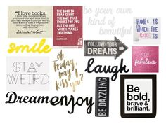 """""""My Favorite Quotes"""" by victoria1221 ❤ liked on Polyvore featuring art"""