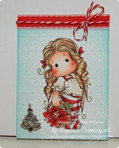 Winter Wonderland collection, Magnolia stamps