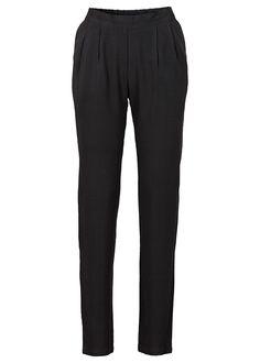 Ležérne nohavice nohavice od BODYFLIRT z jemného materiálu, veľmi pakne padavý s trih. Vnútorná dĺžka vo veľ. 38 cca 74,5 cm.
