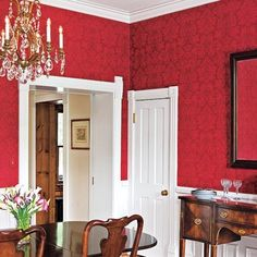 17 Best Dining Room Wallpaper Images