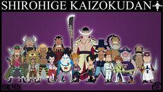 Shirohige Kaizokudan by jimjimfuria1.deviantart.com on @DeviantArt