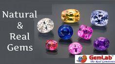 Natural and Real Gems