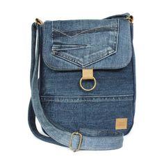 Schouder tas jeans