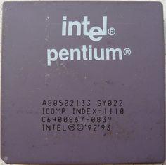 Intel Pentium  133 from 1993