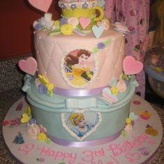 disney princess cake ideas for birthdays 2 304x303