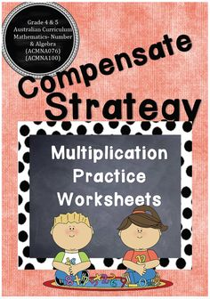 Screenshot 2015-08-03 19.56.02 Multiplication Practice, Multiplication Strategies, Maths, Teaching Resources, Classroom Resources, Australian Curriculum, Eighth Grade, Activity Centers, Differentiation
