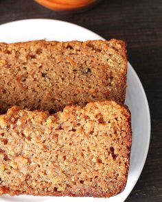 Closeup of Paleo Carrot Cake Bread