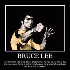 funny poster. But Lee was one in a million.