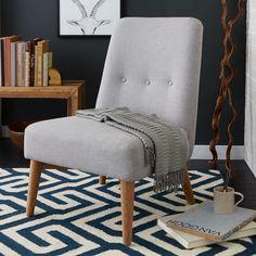 Button Slipper Chair | west elm