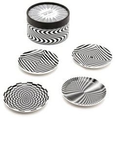 Marcello Morandini - Op Art plate for Rosenthal | Dine in Style ...