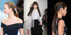 9 Super Pretty Hairstyles We Saw on the Fashion Week Runways  - MarieClaire.com