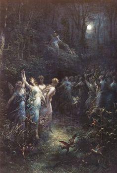 Gustave Doré- A Midsummer night's Dream ca. 1870