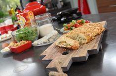 Recept voor Recept Hartige Taartrol met gorgonzola en peer van Danna