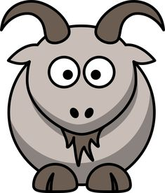 Cabra, the surprisingly useful flashcard program Farm Animals, Funny Animals, Woodland Animals, Fat Humor, Farm Animal Coloring Pages, Craft Images, Goat Farming, Animal Silhouette, Baby Goats