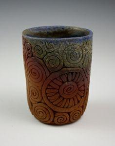 Wood-fired Coiled Tumbler- Kulshan Clayworks