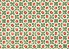 red green wallpaper vintage - Google Search Vintage Wallpaper Patterns, Antique Wallpaper, Pattern Wallpaper, Vintage Wallpapers, Kitchen Wallpaper, Green Wallpaper, Red Pattern, Pattern Design, Patriotic Wallpaper