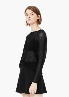 Cotton sweater - Cardigans and sweaters for Women | MANGO