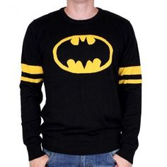 Pull-over Batman logo classique - XXL - Boutique officielle DC Comics Logo Batman, Superhero Logos, Gotham, Costume Batman, Deadpool, Dc Comics, Boutique, Graphic Sweatshirt, Sweatshirts