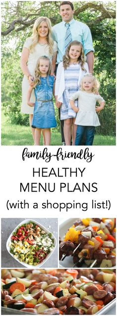 Get a weekly menu plan with a shopping list sent straight to your inbox every week! Every recipe is 500 calories less per serving and are meals your family will actually eat!