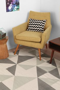 Assembly Home Rotating Triangle Rug