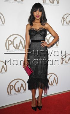Kerry Washington attending the 24th Annual Producers Guild Awards held at the Beverly Hilton Hotel in Berverly Hills, California - Jan 26, 2013 - Photo: Runway Manhattan/Bauer-Griffin