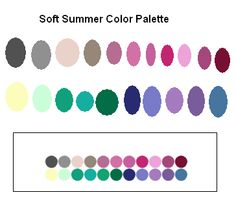 Color Palette for Soft Summer Tone