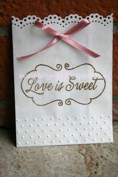 Pink Frilly: sacchetti confettata