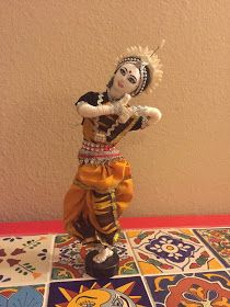 Sam's heaping cup of crafts: Doll making...Dance dolls of India (Odissi)