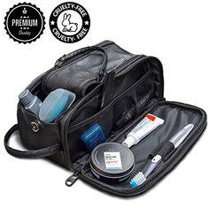 Toiletry Bag for Men or Women - Dopp Kit For Travel. Cruelty Free Toiletries  Organizer 082b224aad931