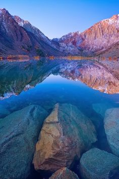Blue Lagoon Autumn, Convict Lake, California