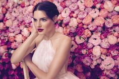 The Daalarna Flower Collection for Spring 2016 is a fabulously feminine bridal collection full of lace, tulle, pearls and pretty watercolour florals. Wedding Pics, Wedding Blog, Wedding Styles, Dream Wedding, Wedding Dresses, Pink Petals, Bridal Collection, Fashion Show, Women's Fashion