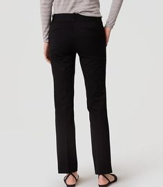 Image of Bi-Stretch Straight Leg Pants in Marisa Fit