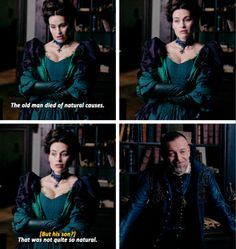 Milady and Treville | BBC Musketeers | Season 3