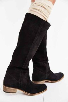 Seychelles Secret Western Tall Suede Boot - Urban Out