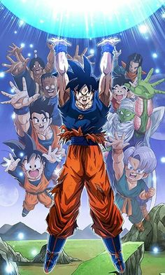 GenkiDama by mr. Otaku Anime, Anime Echii, Dragon Ball Z, Goku Vs Buu, Manga Font, Thanos Avengers, Manga Dragon, Cartoon Shows, Akira