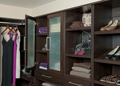 WoodTrac Closet System Launched by Sauder  ||  ClosetsDaily.com