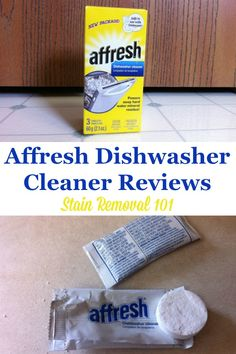 Affresh dishwasher cleaner reviews {on Stain Removal 101} #Affresh #DishwasherCleaner #CleaningProduct House Cleaning Tips, Diy Cleaning Products, Spring Cleaning, Cleaning Hacks, Cleaning Supplies, Affresh Dishwasher Cleaner, Arm And Hammer Super Washing Soda, Clean Kitchen Cabinets, Kitchen Cleaning