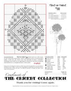 Tisket-a-Tasket Egg Vicki Hastings free-design by Cricket Collection