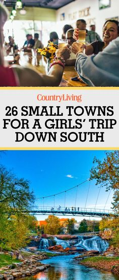 26 Small Towns Perfect for A Girls' Trip Down South 26 Best Southern Weekend Getaways – Towns in the South for Girlfriend Trips Usa Roadtrip, Travel Usa, Solo Travel, Italy Travel, Bowling Green Kentucky, Weekend Getaways In The South, Best Weekend Getaways, Girls Getaway Weekend, Weekend Vacations