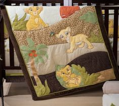 5 Favorite Disney-Themed Baby Nursery Ideas | Disney Baby.  Disney quilts