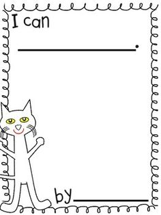Pete the Cat activities: FREE Class-Made Book template. New Class, Class List, Pete The Cats, Classroom Helpers, Friendship Party, Cat Activity, Man Crafts, Author Studies, Preschool Books