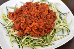 Middager (Bakekona) Bolognese, Spaghetti, Ethnic Recipes, Food, Blogging, Essen, Meals, Yemek, Noodle