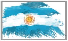 Argentina World Cup, Argentina Flag, Flags Of The World, Countries Of The World, All The Bright Places, Flag Painting, Flag Art, World Cup 2018, South America